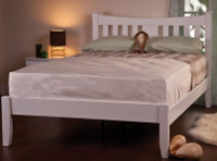 Arquette Wooden Bed Frame, Sprung Slated Bed Base