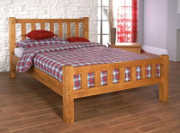 Austin Oak Frame Bed